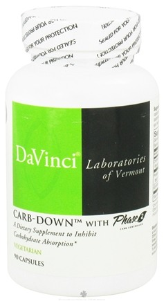 DROPPED: DaVinci Laboratories - Carb-Down with Phase 2 - 90 Vegetarian Capsules CLEARANCE PRICED
