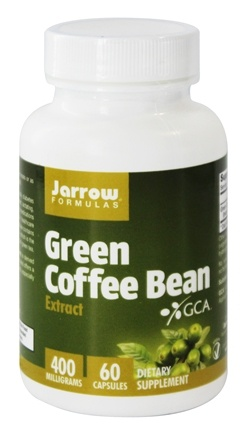 Jarrow Formulas - Green Coffee Bean Extract 400 mg. - 60 Vegetarian Capsules