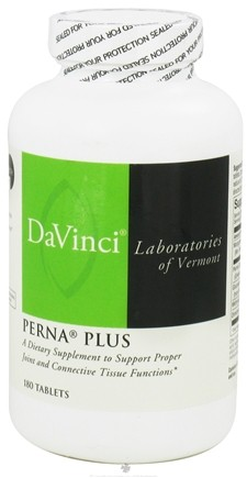 DROPPED: DaVinci Laboratories - Perna Plus - 180 Tablets CLEARANCE PRICED