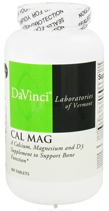DROPPED: DaVinci Laboratories - Cal Mag - 180 Tablets CLEARANCE PRICED