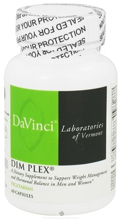 DROPPED: DaVinci Laboratories - DIM PLEX - 60 Vegetarian Capsules CLEARANCE PRICED