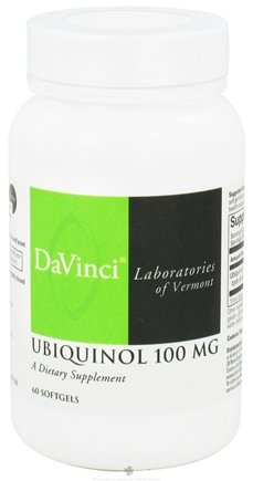 DROPPED: DaVinci Laboratories - Ubiquinol 100 mg. - 60 Softgels CLEARANCE PRICED