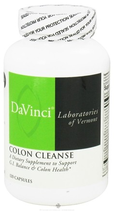 DROPPED: DaVinci Laboratories - Colon Cleanse - 120 Capsules CLEARANCE PRICED