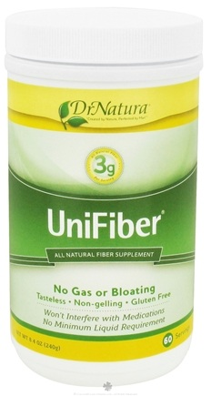 DROPPED: DrNatura - Unifiber All Natural Fiber Supplement - 8.4 oz. CLEARANCE PRICED