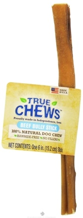 DROPPED: True Chews - Beef Bully Stick For Dogs - 6 in.
