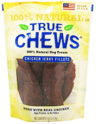 Zoom View - Chicken Jerky Fillets Dog Treats