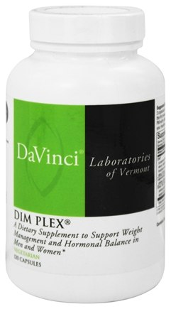 DROPPED: DaVinci Laboratories - DIM PLEX - 120 Vegetarian Capsules