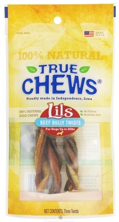 DROPPED: True Chews - Lils Beef Bully Twists For Dogs - 3 Piece(s)
