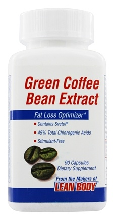 DROPPED: Labrada - Green Coffee Bean Extract 400 mg. - 90 Capsules