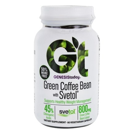 Buy Genesis Today Green Coffee Bean Extract With Svetol 60