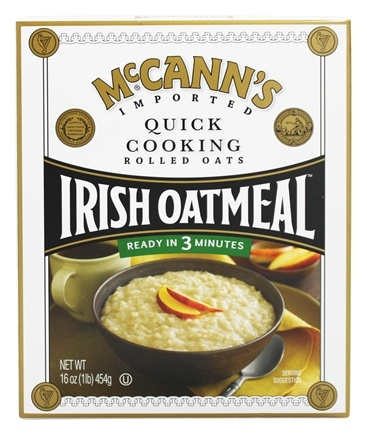 McCann's - Irish Oatmeal Quick Cooking Rolled Oats - 16 oz.