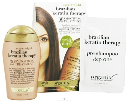 DROPPED: Organix - Ever Straight Brazilian Keratin Therapy 30 Day Smoothing Treatment - CLEARANCE PRICED