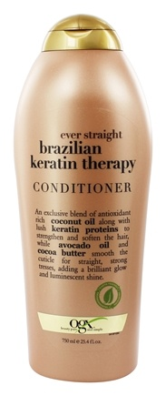Zoom View - Conditioner Ever Straight Brazilian Keratin Therapy