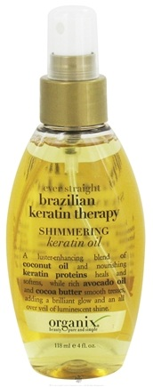 Zoom View - Shimmering Keratin Oil Ever Straight Brazilian Keratin Therapy