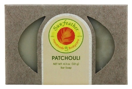 DROPPED: Sunfeather - Bar Soap Patchouli - 4.3 oz.