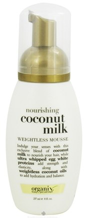 DROPPED: Organix - Weightless Mousse Nourishing Coconut Milk - 8 oz.