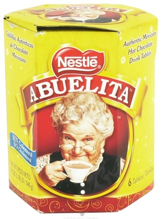 DROPPED: Nestle - Abuelita Authentic Mexican Hot Chocolate Drink Tablets - 6 Tablets CLEARANCE PRICED