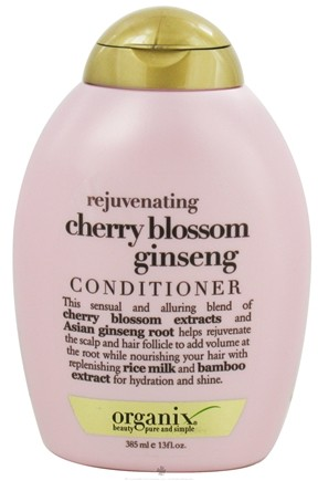 DROPPED: Organix - Conditioner Rejuvenating Cherry Blossom Ginseng - 13 oz.