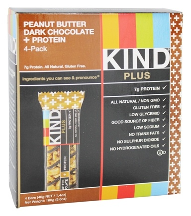 DROPPED: Kind Bar - Fruit and Nut Bars Peanut Butter Dark Chocolate - 4 Bars