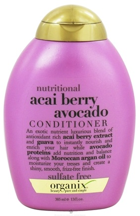 DROPPED: Organix - Conditioner Nutritional Acai Berry Avocado - 13 oz. CLEARANCE PRICED