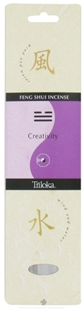 DROPPED: Triloka - Feng Shui Incense Creativity - 10 Stick(s)
