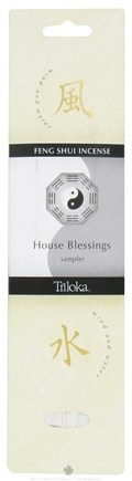 DROPPED: Triloka - Feng Shui Incense House Blessings Sampler - 7 Stick(s)