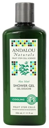 DROPPED: Andalou Naturals - Shower Gel Cooling Aloe Mint - 11 oz.