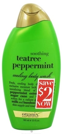 Zoom View - Cooling Body Wash Soothing Tea Tree Peppermint