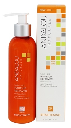 Andalou Naturals - Brightening Lash + Lid Make-Up Remover - 5.5 oz.