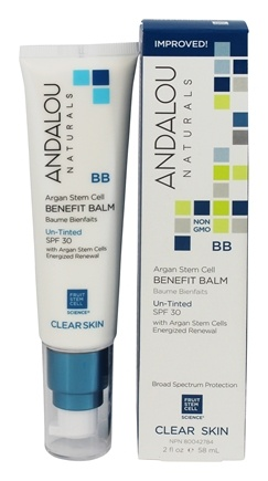 Andalou Naturals - Clarifying Oil Control Beauty Balm Un-Tinted 30 SPF - 2 oz.