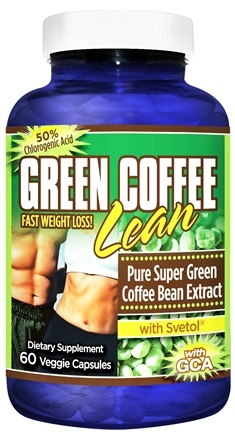 DROPPED: Gold Star Nutrition - Green Coffee Bean with Svetol - 60 Vegetarian Capsules