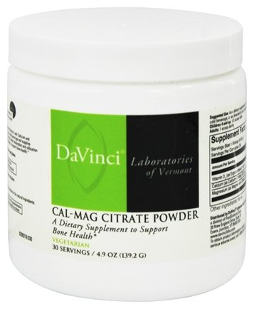 DROPPED: DaVinci Laboratories - Cal-Mag Citrate Powder - 4.9 oz.