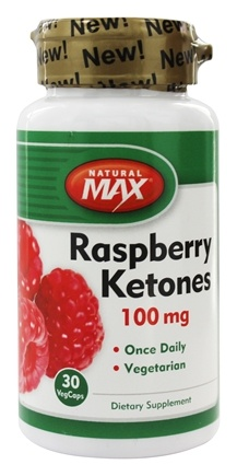 DROPPED: Natural Max - Raspberry Ketones 100 mg. - 30 Vegetarian Capsules