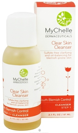 DROPPED: MyChelle Dermaceuticals - Clear Skin Cleanser For Teen Acne - 2.1 oz. CLEARANCE PRICED