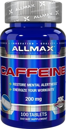 AllMax Nutrition - Caffeine 200 mg. - 100 Tablets