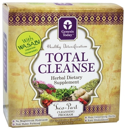 Zoom View - Total Cleanse Two-Part Cleansing System