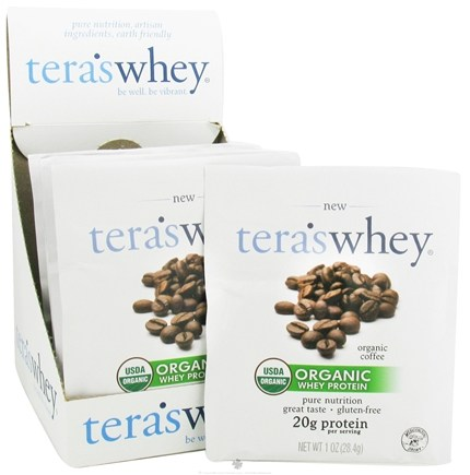 DROPPED: Tera's Whey - Organic Grass Fed Whey Protein Coffee - 1 oz.
