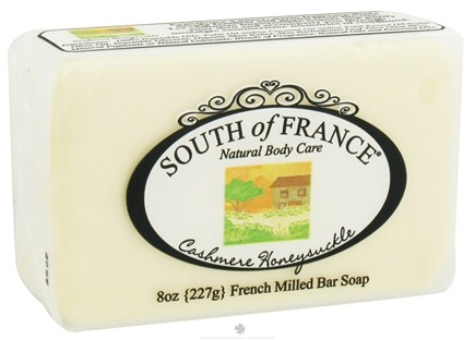 DROPPED: South of France - French Milled Vegetable Bar Soap Cashmere Honeysuckle - 8 oz.