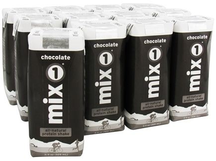 DROPPED: Mix1 - All-Natural Protein Shake RTD Chocolate - 11 oz.