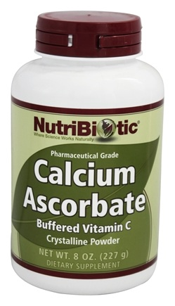 DROPPED: Nutribiotic - Calcium Ascorbate Crystalline Powder - 8 oz.