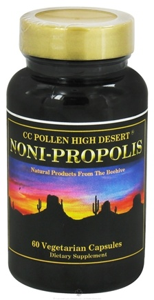 DROPPED: CC Pollen - High Desert Noni-Propolis - 60 Vegetarian Capsules CLEARANCE PRICED