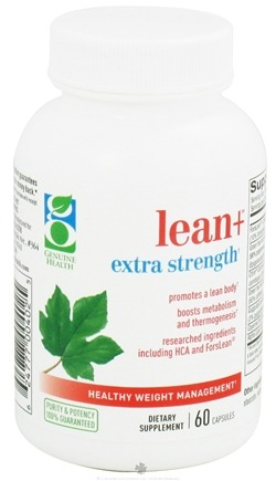 DROPPED: Genuine Health - Lean+ Extra Strength - 60 Capsules CLEARANCE PRICED