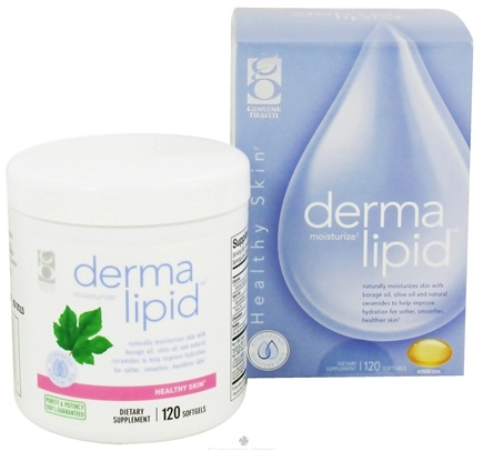 DROPPED: Genuine Health - Derma Lipid - 120 Softgels CLEARANCE PRICED