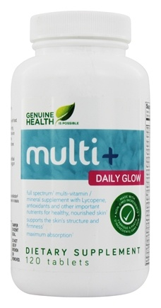 DROPPED: Genuine Health - Multi+ Daily Glow - 120 Tablets