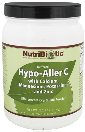 DROPPED: Nutribiotic - Hypo-AllerC Effervescent Crystalline Powder - 2.2 lbs. CLEARANCE PRICED