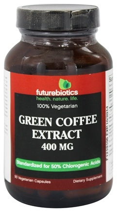 DROPPED: Futurebiotics - Green Coffee Extract 400 mg. - 90 Vegetarian Capsules