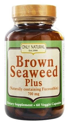 Only Natural - Brown Seaweed Plus 700 mg. - 60 Vegetarian Capsules