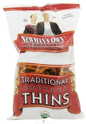 DROPPED: Newman's Own Organics - Organic Pretzel Traditional Thins - 7.5 oz.
