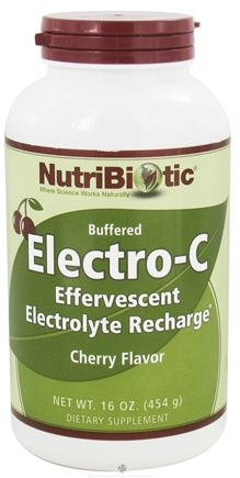 DROPPED: Nutribiotic - Electro-C Buffered Effervescent Electrolyte Recharge Cherry - 16 oz.