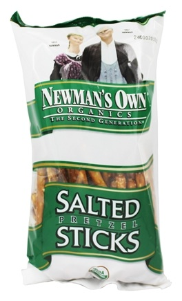 Newman's Own Organics - Organic Pretzel Salted Sticks - 8 oz.